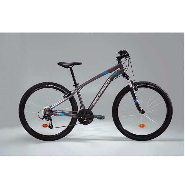 ROCKRIDER ST100 MOUNTAIN BIKE - GREY
