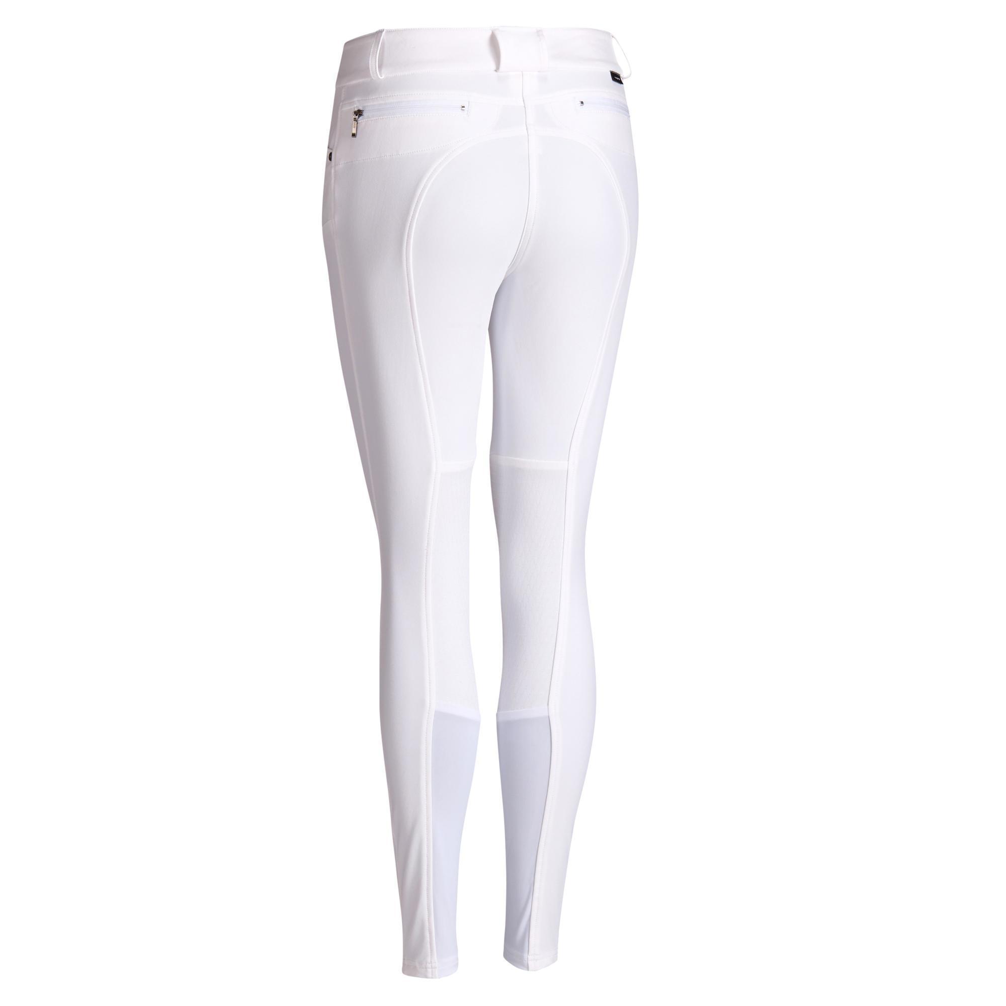 Fouganza Pantalon concours équitation femme