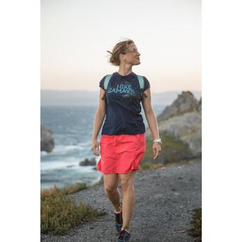Wandelschoenen voor dames NH100 marineblauw