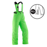 KIDS SKI PANTS PNF 500 - GREEN