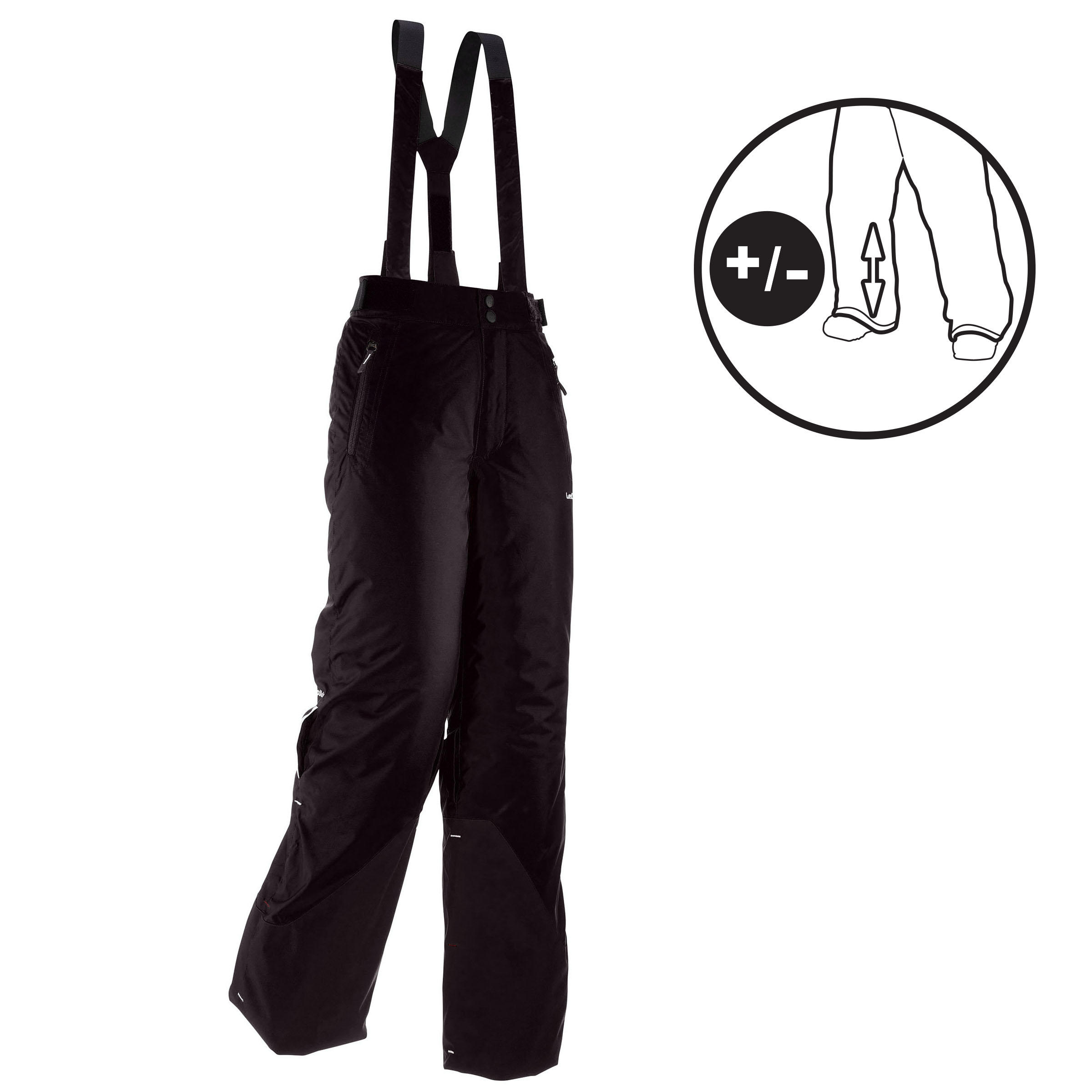 Children's Ski Pants Ski-P Pa 500 Pnf - Black