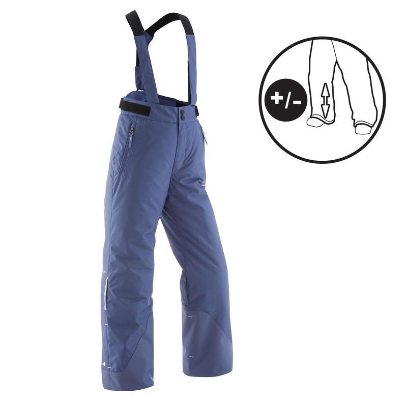 CHILDREN'S SKI PANTS PNF 500 - BLUE