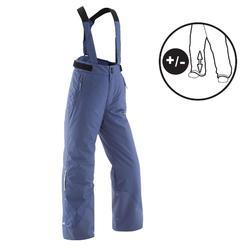 兒童滑雪長褲SKI-P 500 PNF藍色