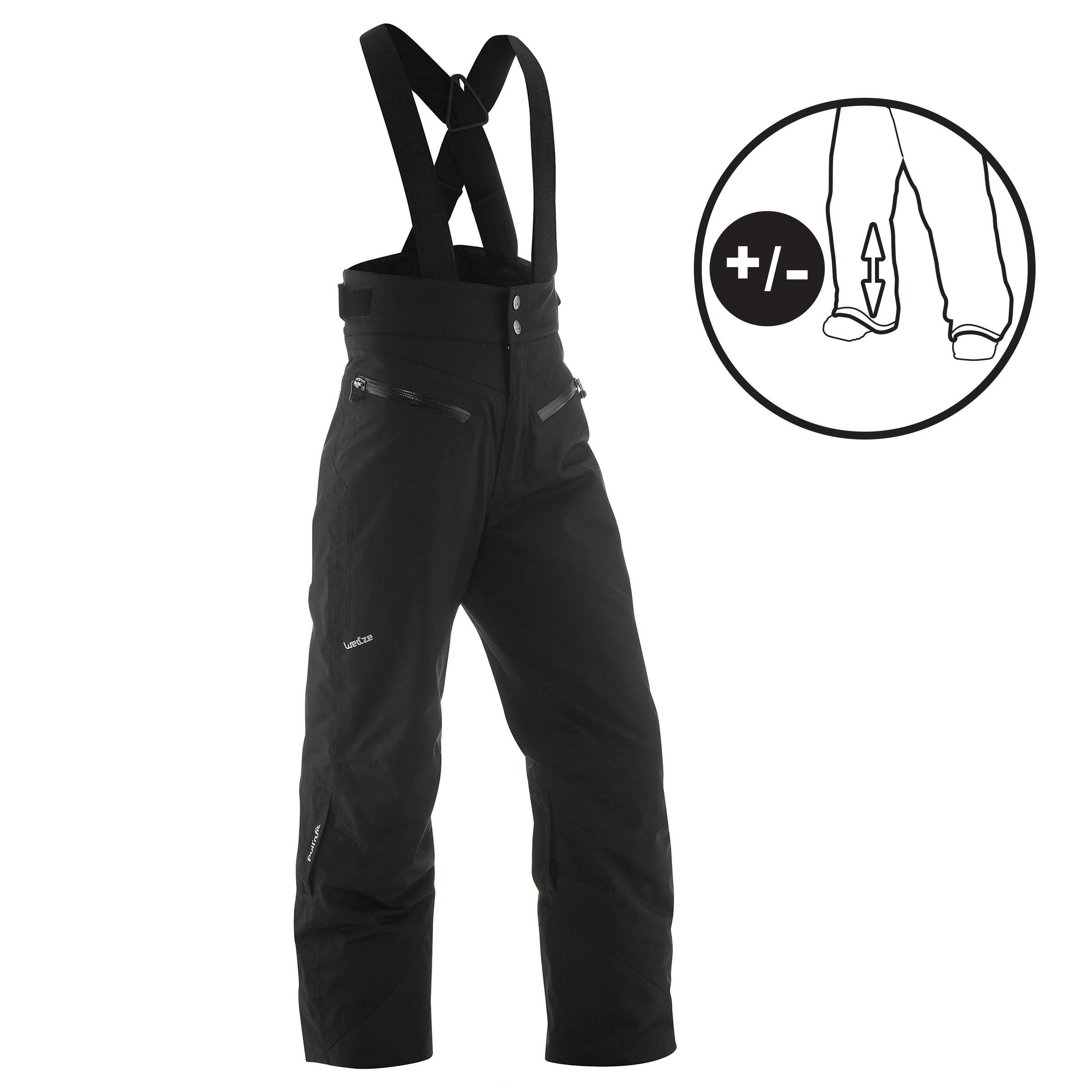 Children's Ski Pants Ski-P PA 900 PNF - Black