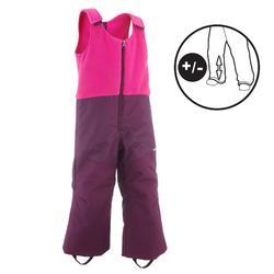 兒童滑雪長褲SKI-P PA 500 PNF紫紅色