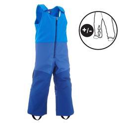 CHILDREN'S SKI TROUSERS SKI-P PA 500 PNF BLUE