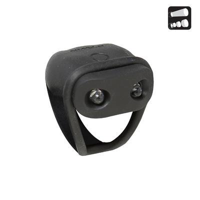 جهاز الإضاءة الأمامية- لون أسود B'TWIN VIOO 100