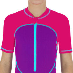 Baju Renang Pendek Anak Perempuan - Pink Ungu