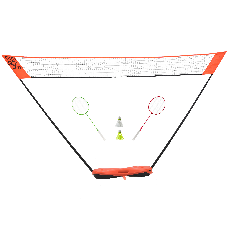 Easy Set 3 m Net and Racquet Set - Orange