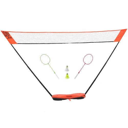 Filet de Badminton EASY SET 3M - ORANGE