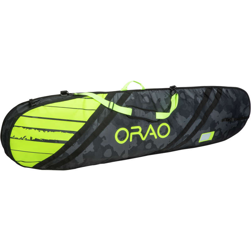 KITEBOARDING Kitesurfing and windsurfing - TRAVEL BOARD COVER 5'2 to 6' ORAO - Kitesurfing and windsurfing