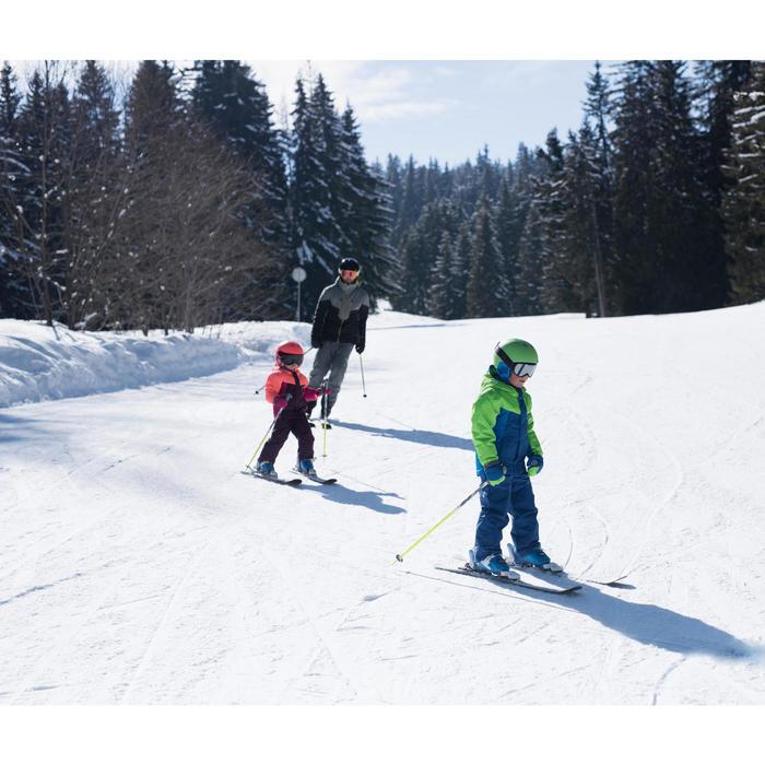 Skibroek voor kinderen PNF 500 pruimenpaars