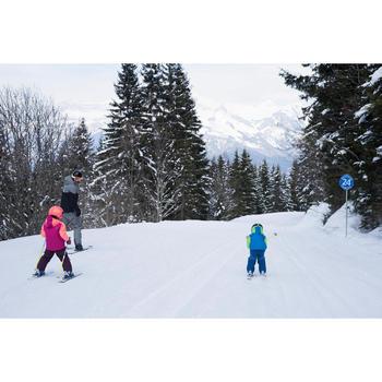 Skijacke Piste 500 PNF Kleinkinder grün