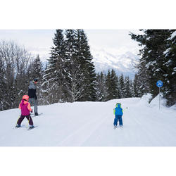 VESTE DE SKI ENFANT SKI-P JKT 500 PNF VERTE