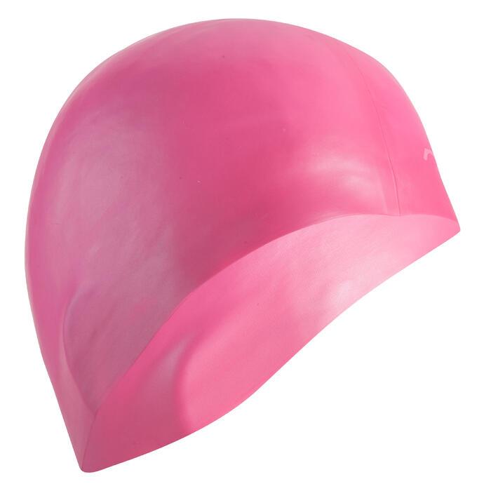 Badekappe Silikon rosa