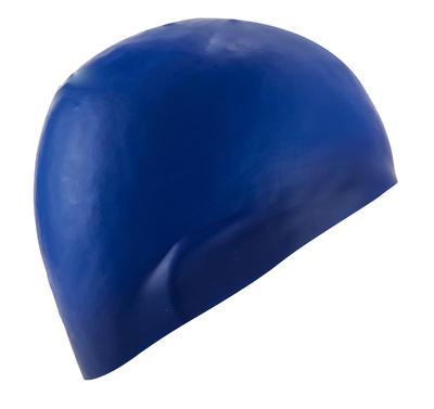 قبعة سباحة سيليكون - زرقاء
