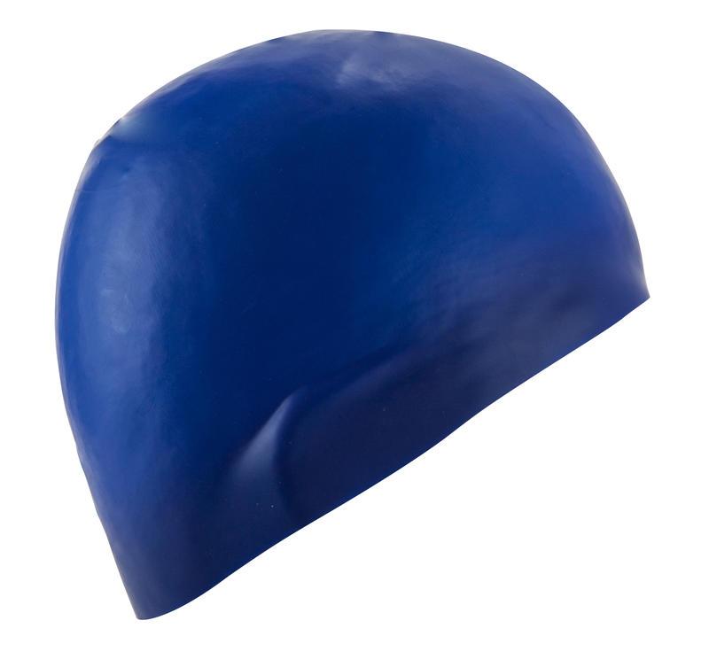 Swim Cap Silicone- Blue