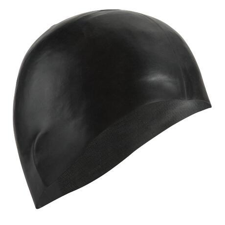 e6f939fe092 500 SILICONE SWIM CAP BLACK | Nabaiji