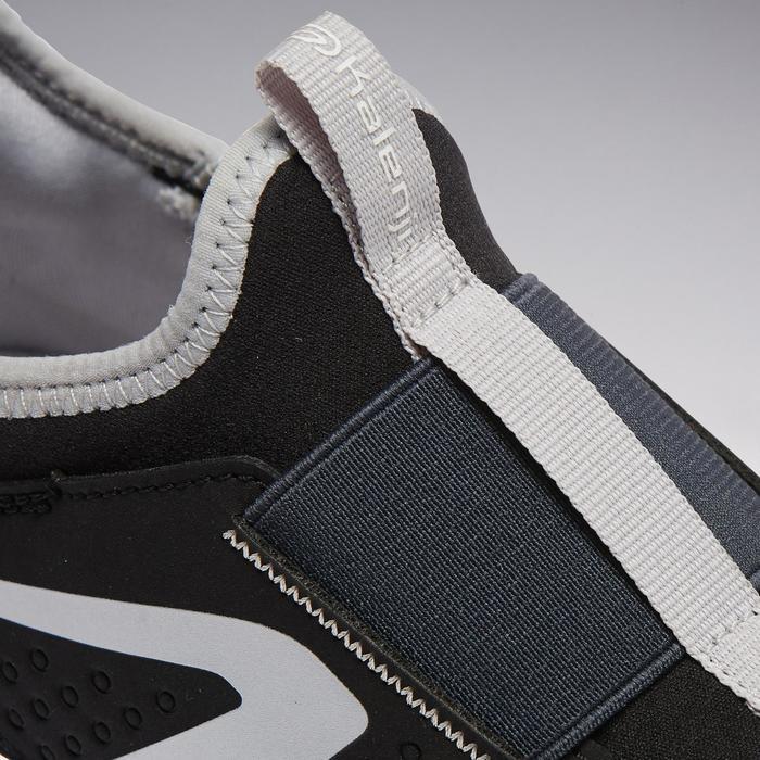Hardloopschoenen kinderen Run Support Easy zwart/grijs