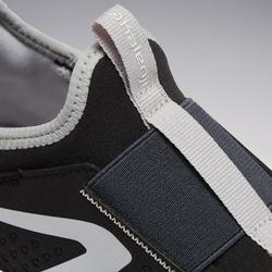 Run Support Easy Children's Athletics Shoes - Black Grey