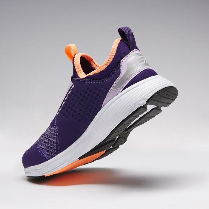 SUPPORT EASY CHILDREN'S ATHLETICS SHOES VIOLET AND MAUVE