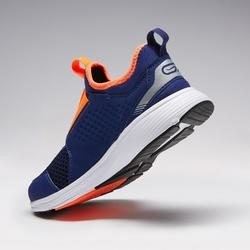 RUN SUPPORT EASY CHILDREN'S ATHLETICS SHOES BLUE FLUO ORANGE