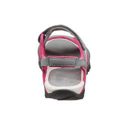 Sandalias de campamento dama Arpenaz 50 gris/rosa