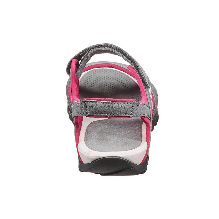 20391e0141d39 Quechua Sandales de randonnée nature NH100 gris rose femme | Decathlon