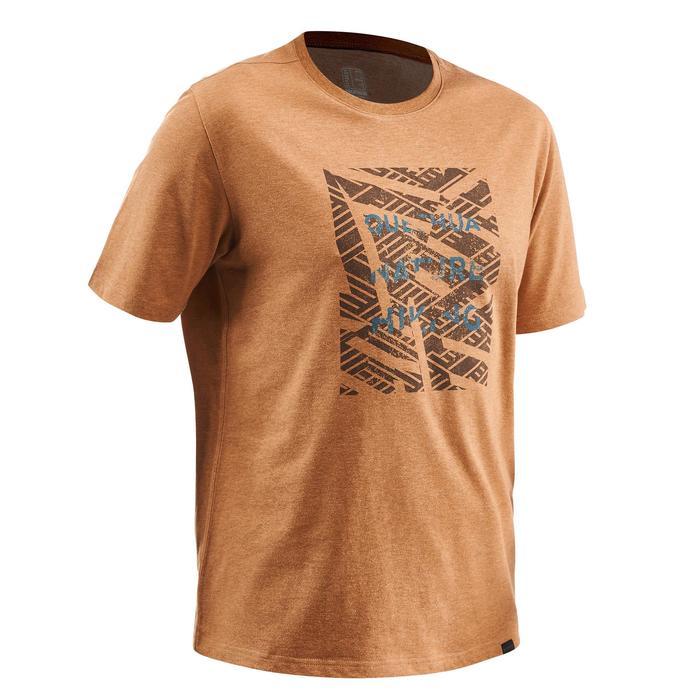 Wandelshirt voor heren NH500 bruin