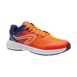 Zapatillas Atletismo Running Kalenji Kiprun Fast Niños Rojas/Azules