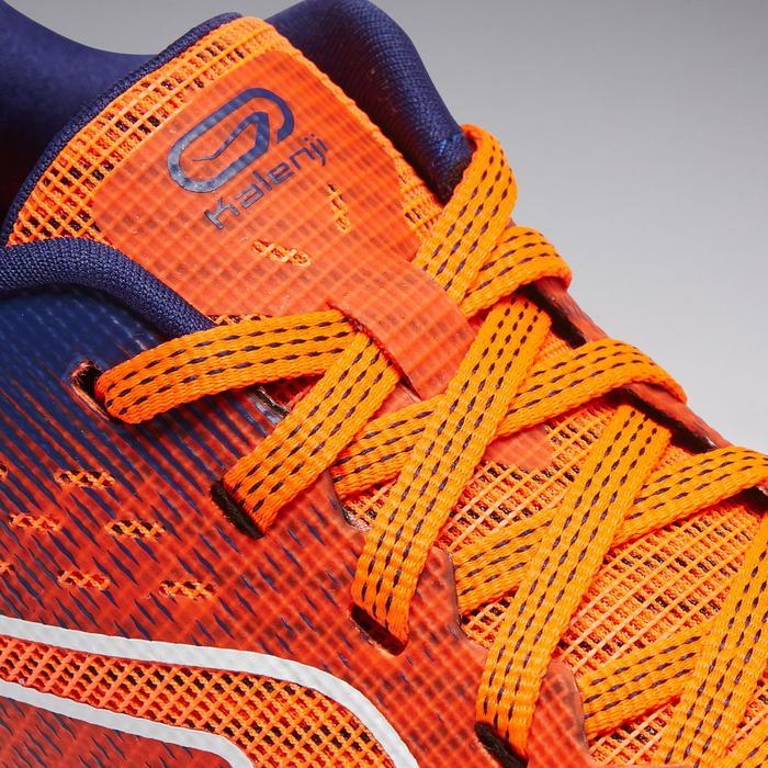 Atletiekschoenen voor kinderen Kiprun rood en blauw