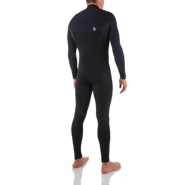 Neoprenanzug 900 Surfen 4/3mm Herren schwarz