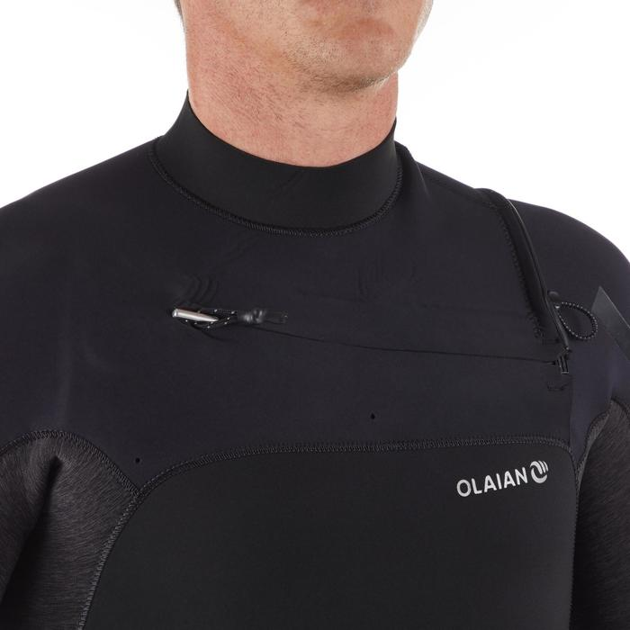 Wetsuit heren 4/3 mm 900 zwart