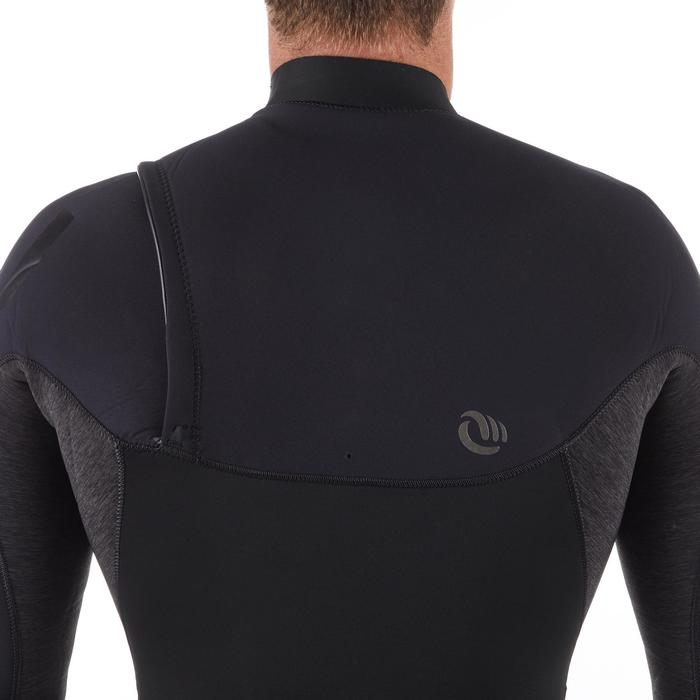 Traje Neopreno Largo Surf 900 4/3 mm Hombre Negro