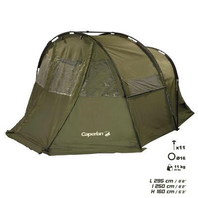 אוהל ליחיד לדיג קרפיונים TANKER FRONTVIEW