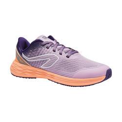 Zapatillas Atletismo Running Kalenji Kiprun Fast Niños Malva/Coral
