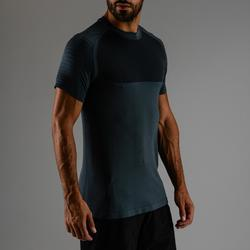 FTS 900 Cardio Fitness T-Shirt - Grey / Blue