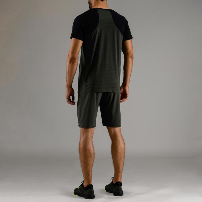 Tee shirt cardio fitness homme FTS 920 marine kaki