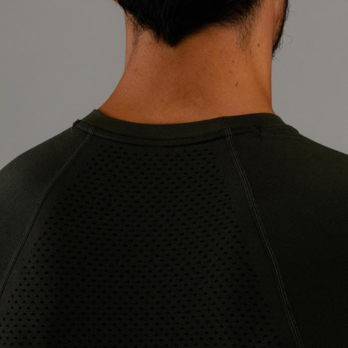 Fitness shirt FTS 900 voor heren, kaki