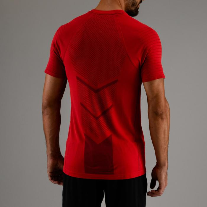 Tee shirt cardio fitness homme FTS 900 rouge