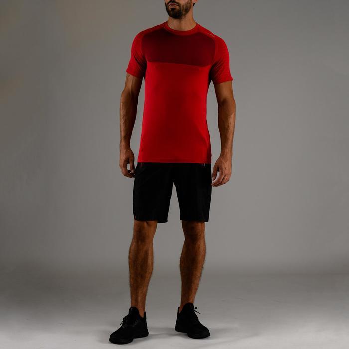 Fitness shirt FTS 900 voor heren, rood