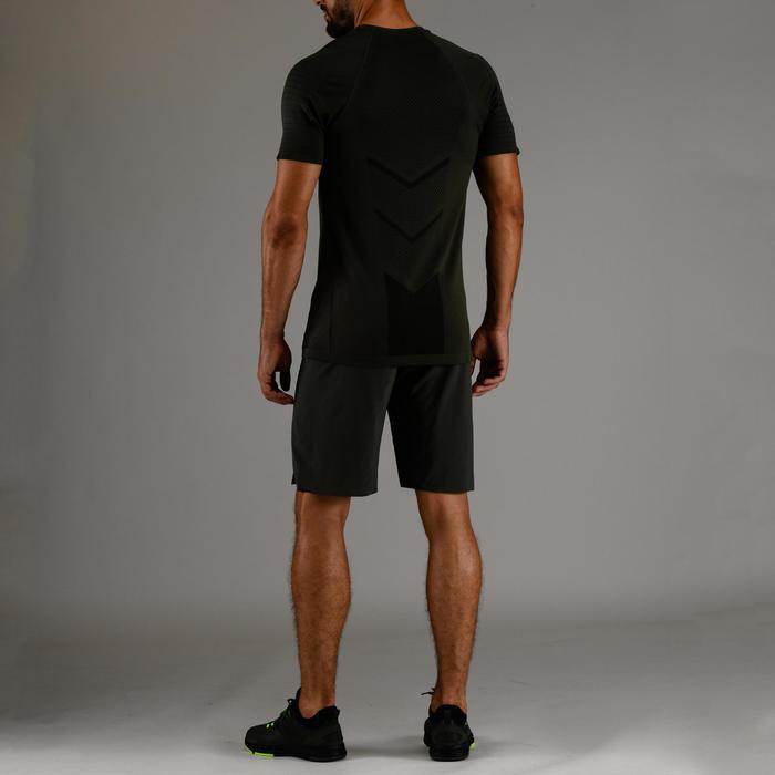Cardiofitness T-shirt voor heren FTS 900 kaki