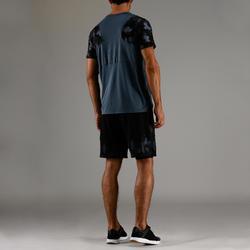 FTS 500 Cardio Fitness T-Shirt - Grey AOP