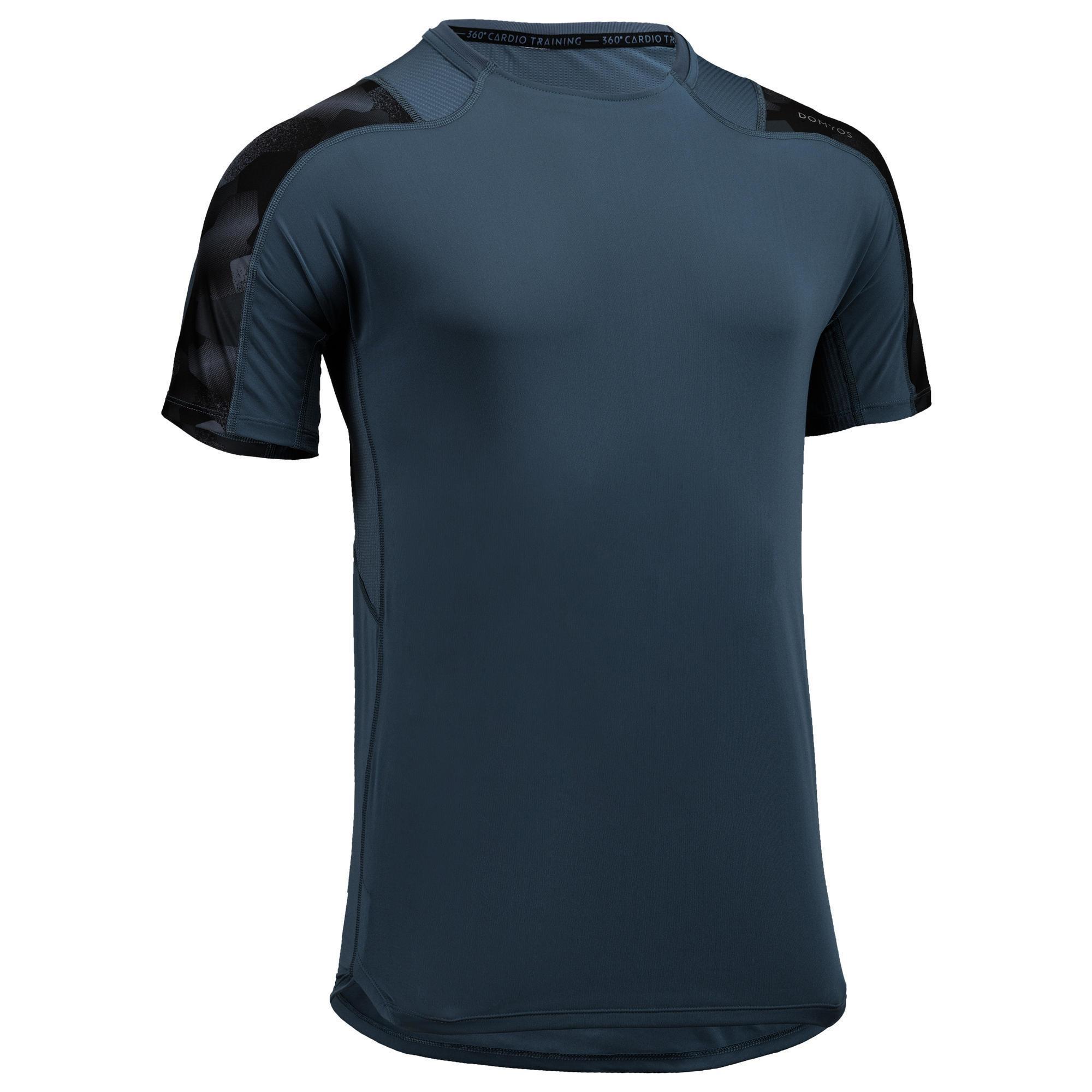 Domyos Fitness shirt FTS 500 voor heren kopen? Leest dit eerst: Fitness kleding Fitness shirt met korting