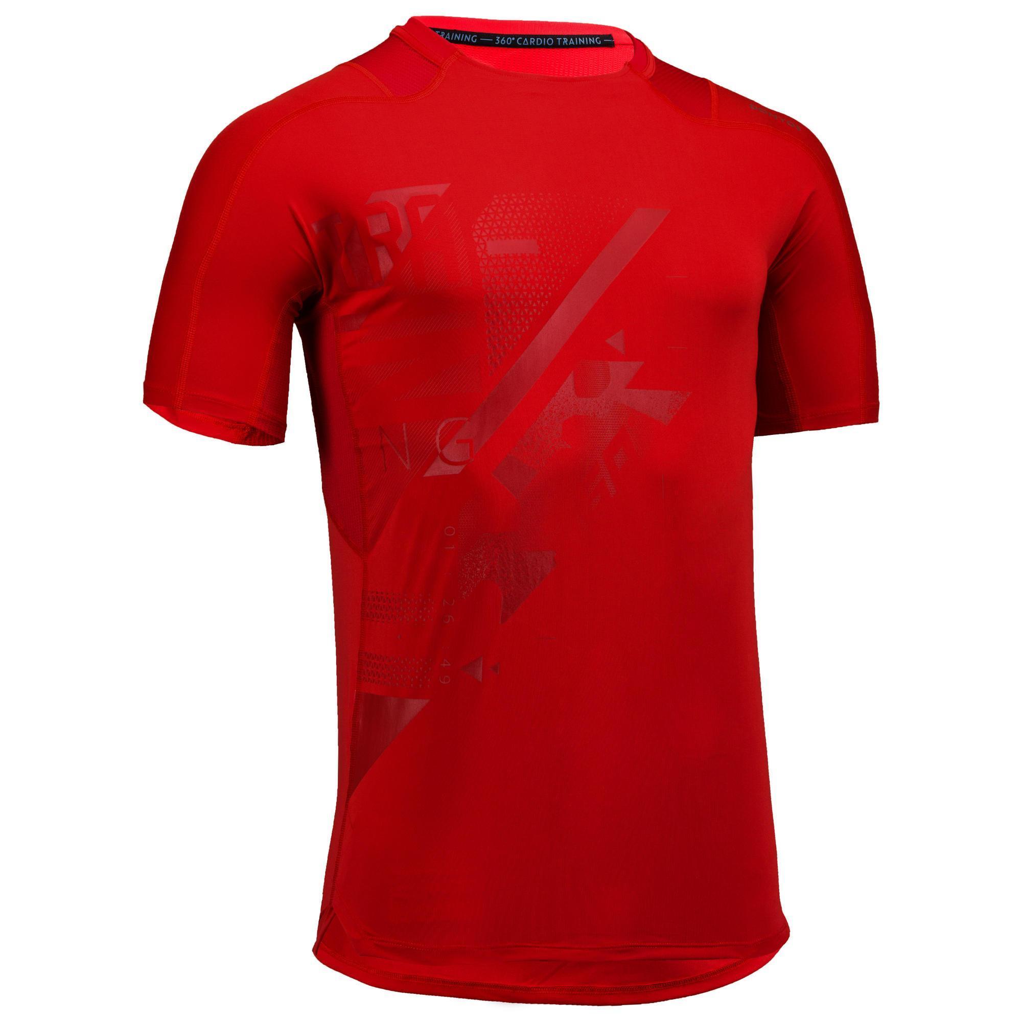 Domyos Fitness shirt FTS 500 voor heren