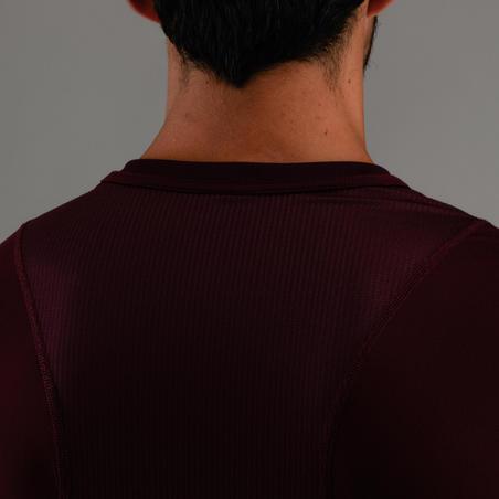 FTS 500 T-Shirt Fitness Kardio - Burgundy Print