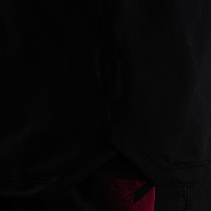 FTS 500 Cardio Fitness T-Shirt - Black/Black
