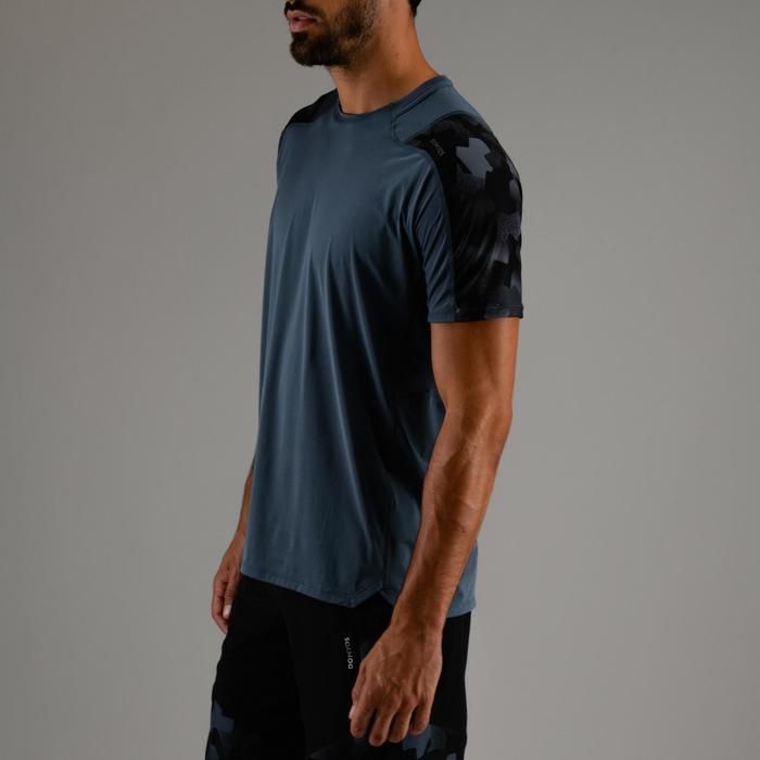 T-Shirt FTS 500 Cardio Fitness Herren grau