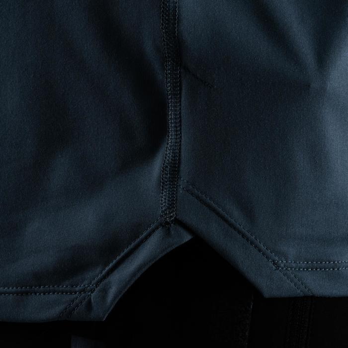 有氧健身T恤FTS 500-灰色