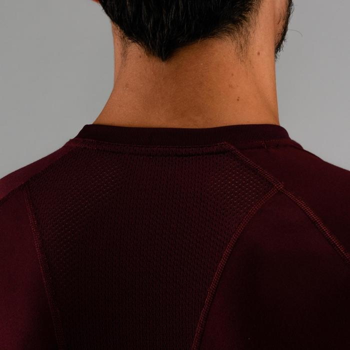 Cardiofitness T-shirt voor heren FTS 120 bordeaux